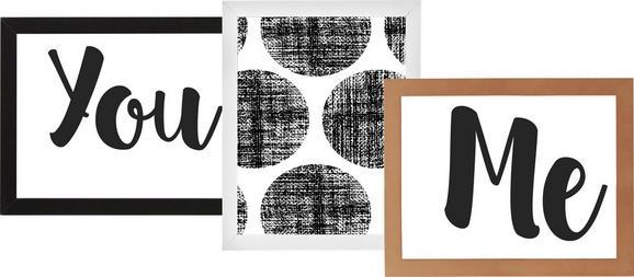 Okvir Za Slike Celina -top- - petrolej/roza, Konvencionalno, umetna masa/leseni material (28,2 23,2 0,935cm) - Mömax modern living