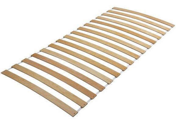 Rollrost Birke - Birkefarben, MODERN, Holz (200/90/3cm)