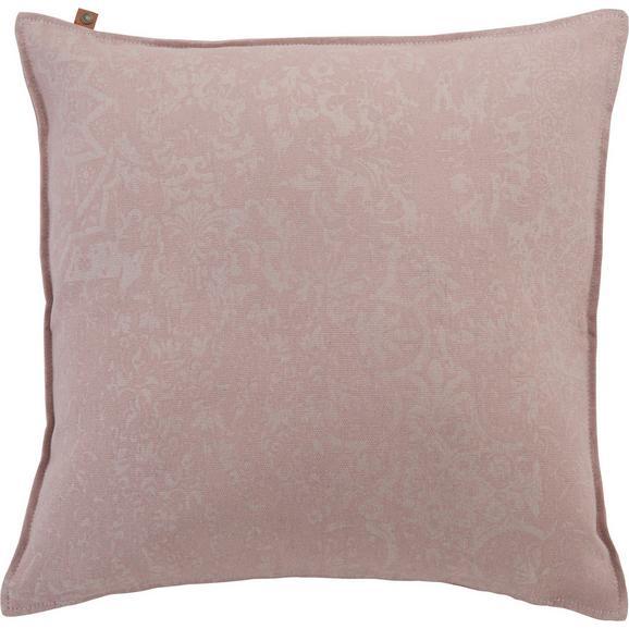 Kissen in Rosa 'Karim' ca. 60x60cm - Rosa, MODERN, Textil (60/60cm) - Bessagi Home
