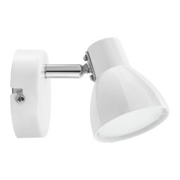 LED-Strahler max. 3 Watt 'Spotty' - Weiß, Metall (8/14cm) - Bessagi Home