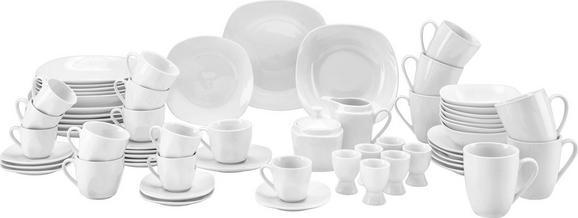Kombiservice Vera - Weiß, KONVENTIONELL, Keramik - Mömax modern living