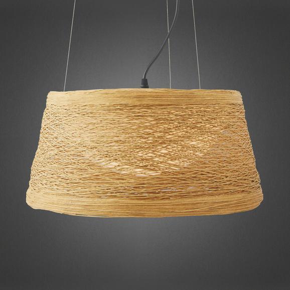 Hängeleuchte Rope - Naturfarben, MODERN, Kunststoff/Metall (40/22cm) - Mömax modern living