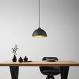 Viseča Svetilka Jimmy - črna/zlata, Trendi, kovina (30/105cm) - Mömax modern living