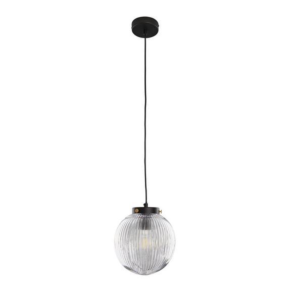 Pendelleuchte Jasper - Klar, MODERN, Glas/Metall (20/120cm) - Bessagi Home