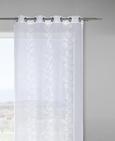 Ösenschal Ivanka in Weiß, ca. 140x245cm - Weiß, MODERN, Textil (140/245cm) - Mömax modern living