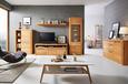 Regal Durham - naravna/bela, Moderno, leseni material/les (55/180/25cm) - Mömax modern living