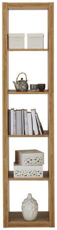 Predelna Stena Aron - aluminij/hrast, umetna masa/leseni material (44/191/35cm) - Mömax modern living