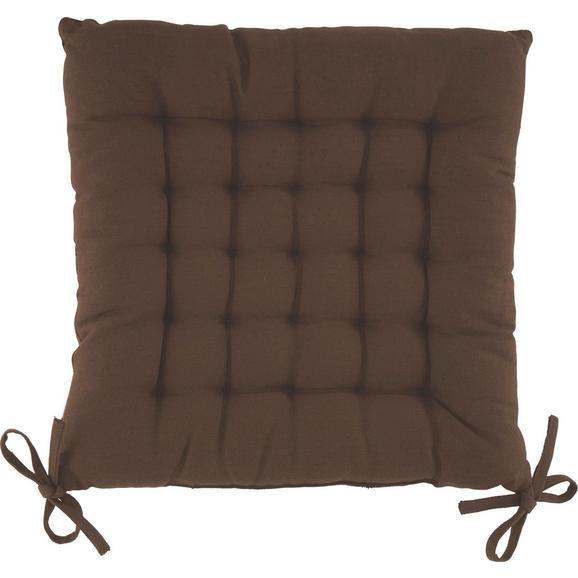Sedežna Blazina Anke - rjava, tekstil (40/40cm) - Mömax modern living