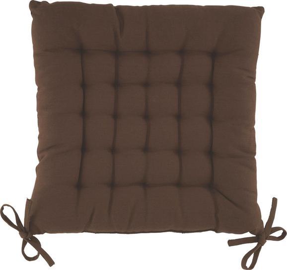 Sitzkissen Anke Brau ca. 40x40cm - Braun, Textil (40/40cm) - Mömax modern living