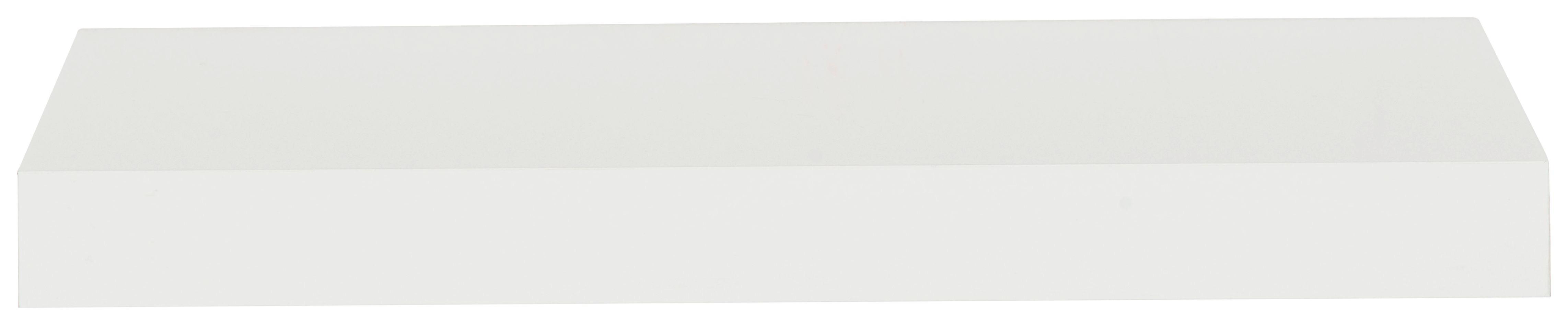 Falipolc Anja   -sb- - fehér, fa (100/4/24cm)