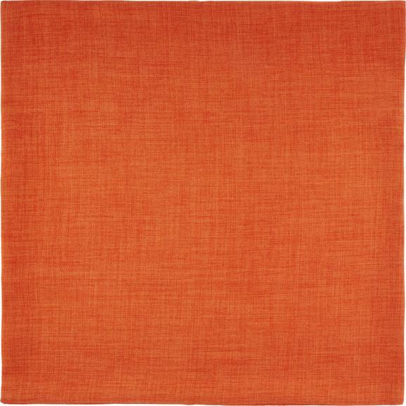 Párnahuzat Leinenoptik - Terrakotta, konvencionális, Textil (60/60cm) - Mömax modern living