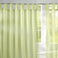 Perdea Cu Bride Hanna - verde deschis, textil (140/245cm) - Based
