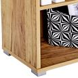 Raft Pentru Documente Profi - culoare lemn stejar, Modern, compozit lemnos (75/113/35cm) - Ombra