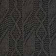 Decke Saskia ca.130x180cm in Dunkelgrau - Dunkelgrau, Textil (130/180cm) - Mömax modern living