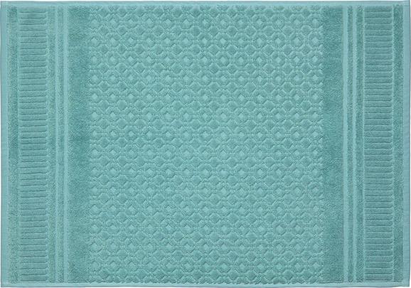 Badematte Carina Jadegrün - Grün, ROMANTIK / LANDHAUS, Textil (50/70cm) - MÖMAX modern living