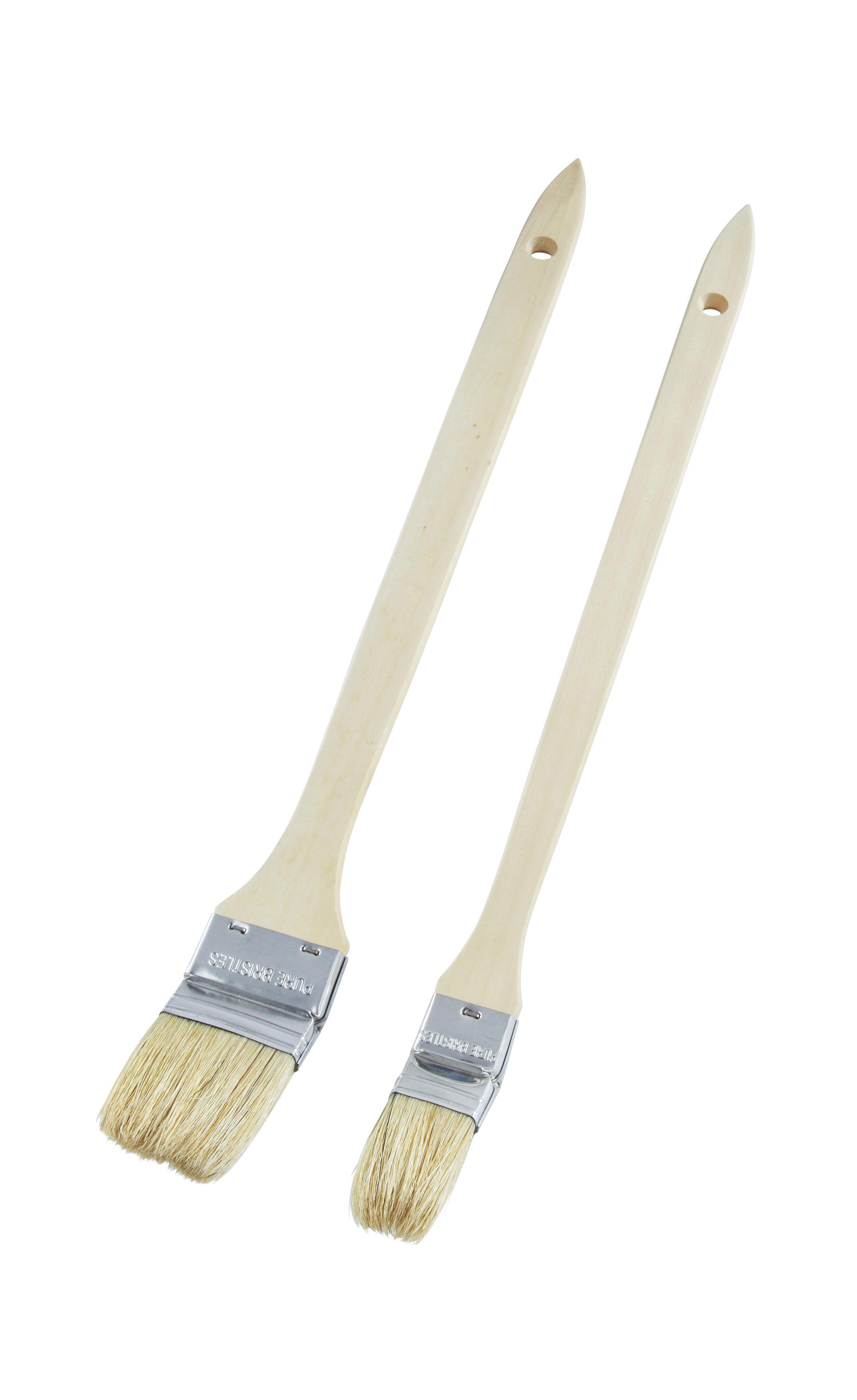Fűtőtestfestő Ecset Isaak - krém, fa/fém