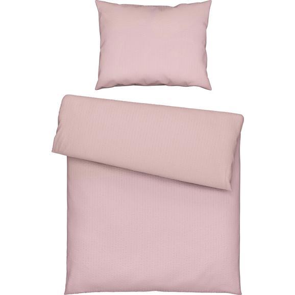 Lenjerie De Pat Babylon - roz antic, textil (140/200cm) - Modern Living