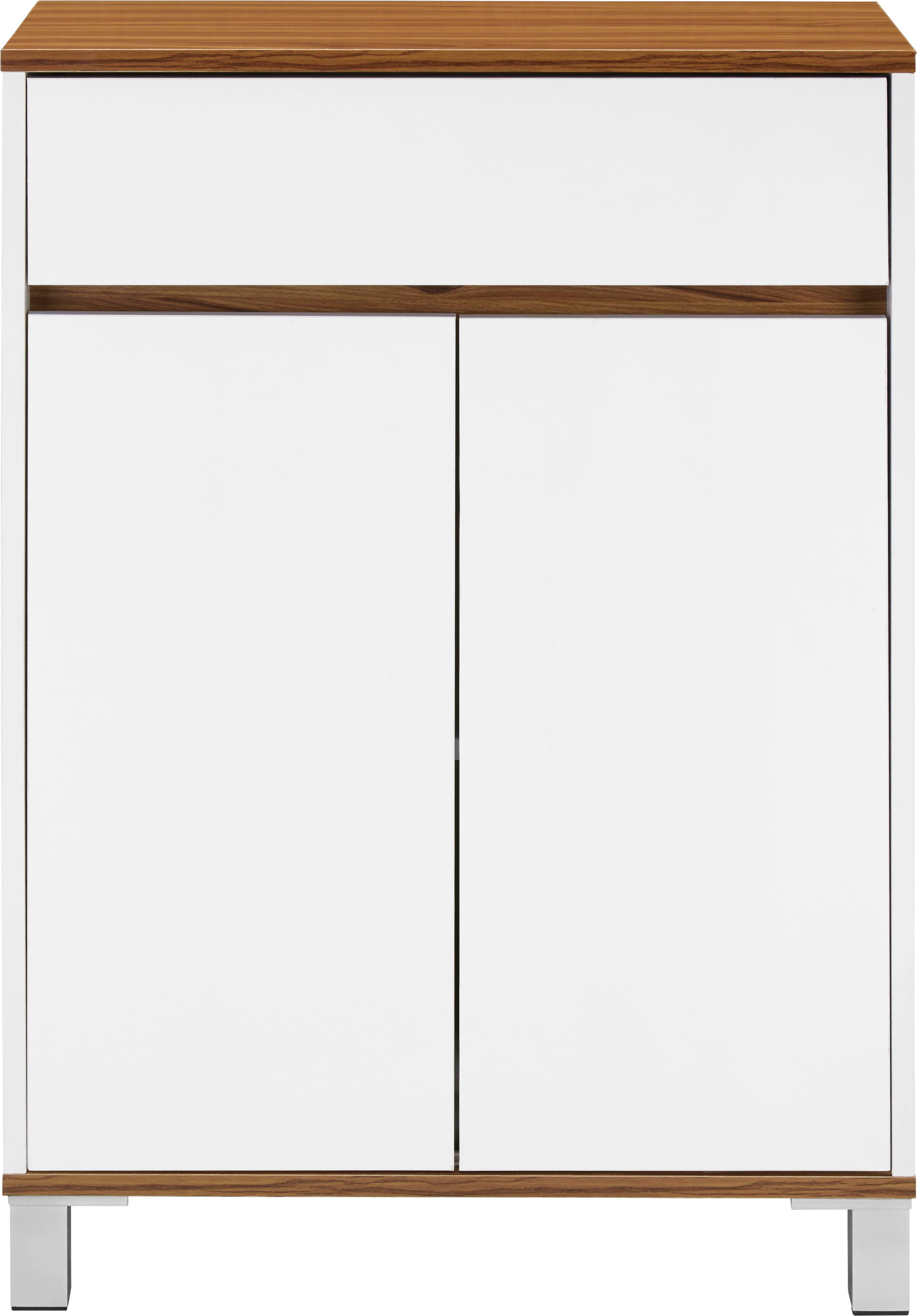 Unterschrank Franca - Braun/Weiß, MODERN, Holz (60/86/30cm) - MÖMAX modern living