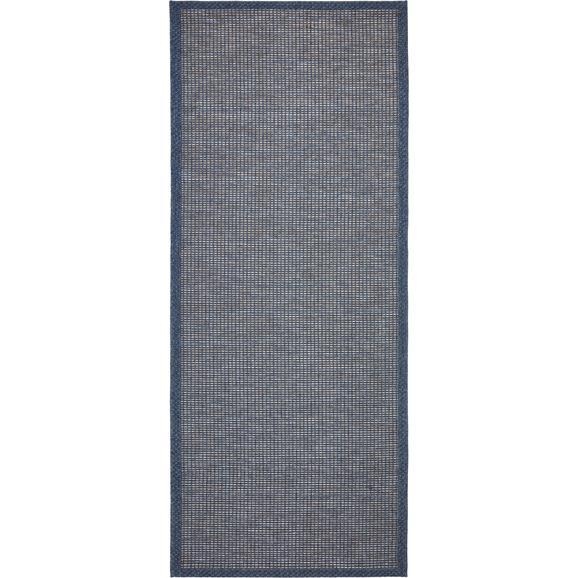 Síkszövött Szőnyeg Jan - Sötétkék, modern, Textil (80/200cm) - Mömax modern living