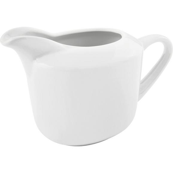 Căniță Pentru Lapte ''adria'' - alb, Konventionell, ceramică (10,7/8,8cm) - Modern Living