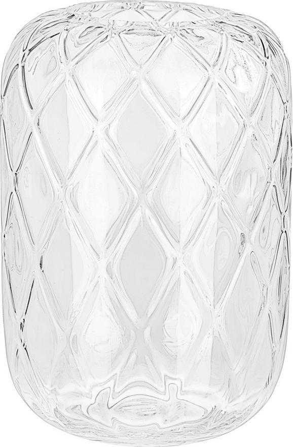 Vaza Chanel - prozorna, Romantika, steklo (24/34cm) - Mömax modern living