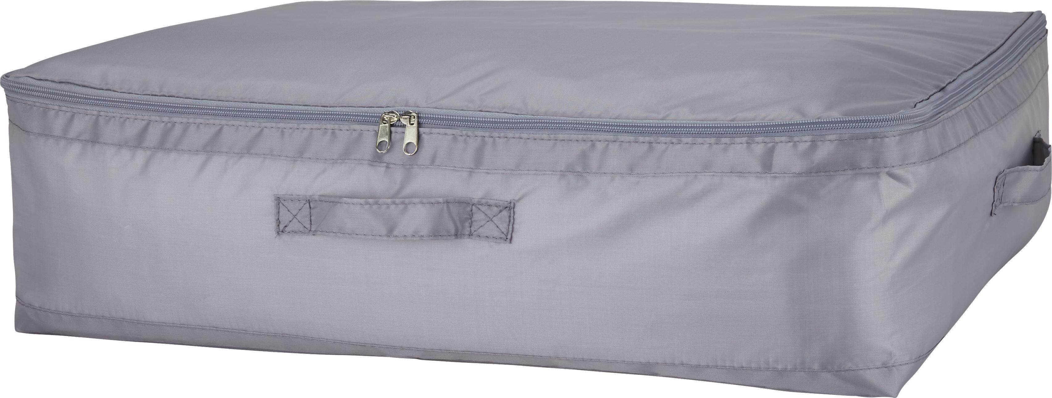 Aufbewahrungsbox Kläck in Grau - Grau, KONVENTIONELL, Kunststoff (60/45/18cm) - MÖMAX modern living