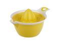 Zitronenpresse Malia in verschiedenen Farben - Türkis/Gelb, LIFESTYLE, Kunststoff (14/19,1/10,8cm) - MODERN LIVING