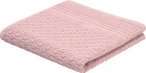 Fürdőlepedő Carina - Rózsaszín, romantikus/Landhaus, Textil (70/140cm) - Mömax modern living