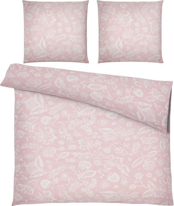 Bettwäsche Florentine, ca. 200x200cm - Rosa, ROMANTIK / LANDHAUS, Textil (200/200cm) - MÖMAX modern living