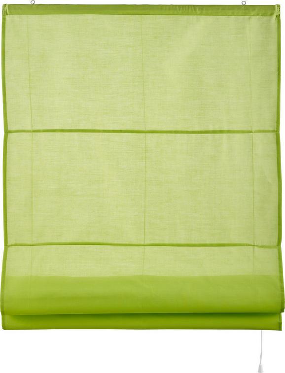 Roló Finn - Zöld, Textil (120/170cm) - Mömax modern living