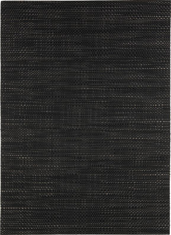 Tischset Hannes Schwarz - Schwarz, Textil (33/45cm) - Mömax modern living