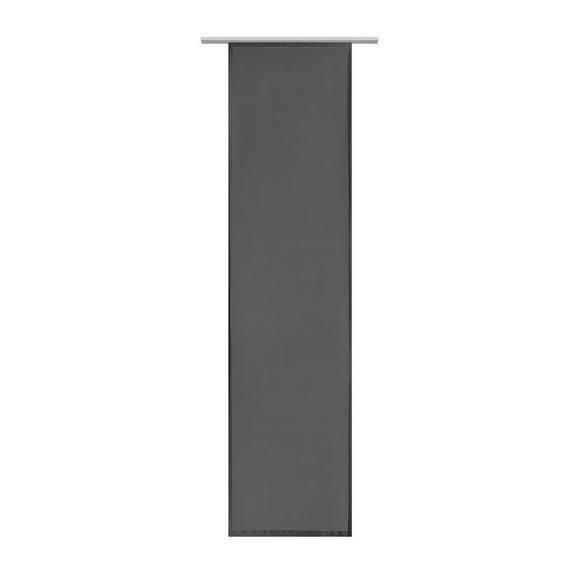 Panelna Zavesa Vicky - črna, tekstil (60/245cm) - Mömax modern living