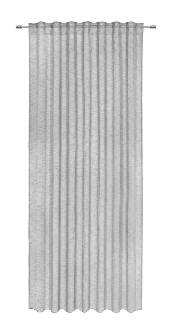 Končana Zavesa Sigrid - antracit, Romantika, tekstil (140/245cm) - PREMIUM LIVING