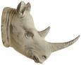 Dekotier Rhino Grau - Grau, LIFESTYLE, Kunststoff (53/63,5/33cm) - Modern Living