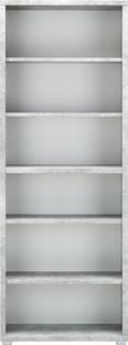 Regal in Grau/Weiß - Weiß/Grau, MODERN, Holzwerkstoff (80/218/36cm) - Mömax modern living