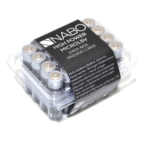 Baterija Nabo - (8/4,5/6cm)