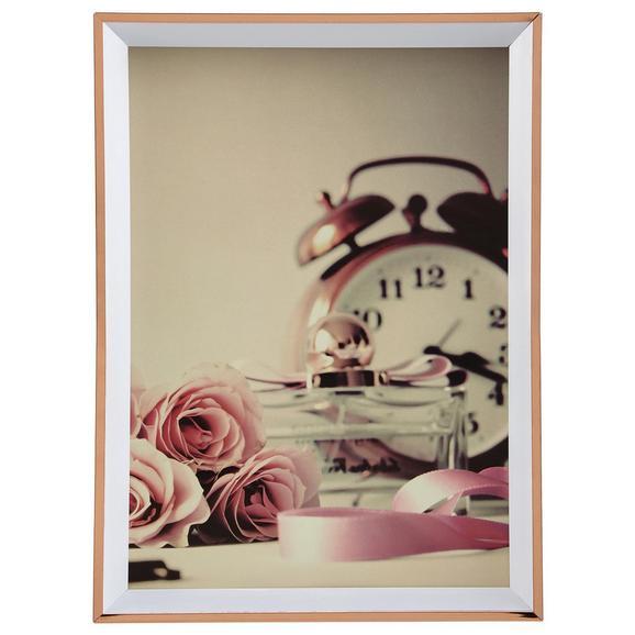 Képkeret Mara - Rózsaszín, Műanyag (13,6/18,7/1,8cm) - Modern Living