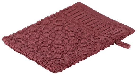 Waschhandschuh Carina Mauve - Lila, ROMANTIK / LANDHAUS, Textil (16/21cm) - Mömax modern living
