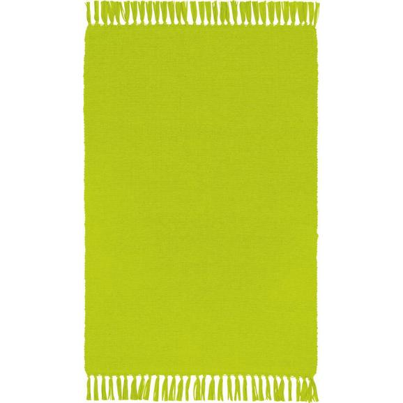 Patchwork Tepih Corner - roza/svijetlo zelena, Konventionell, tekstil (50/80cm) - Based
