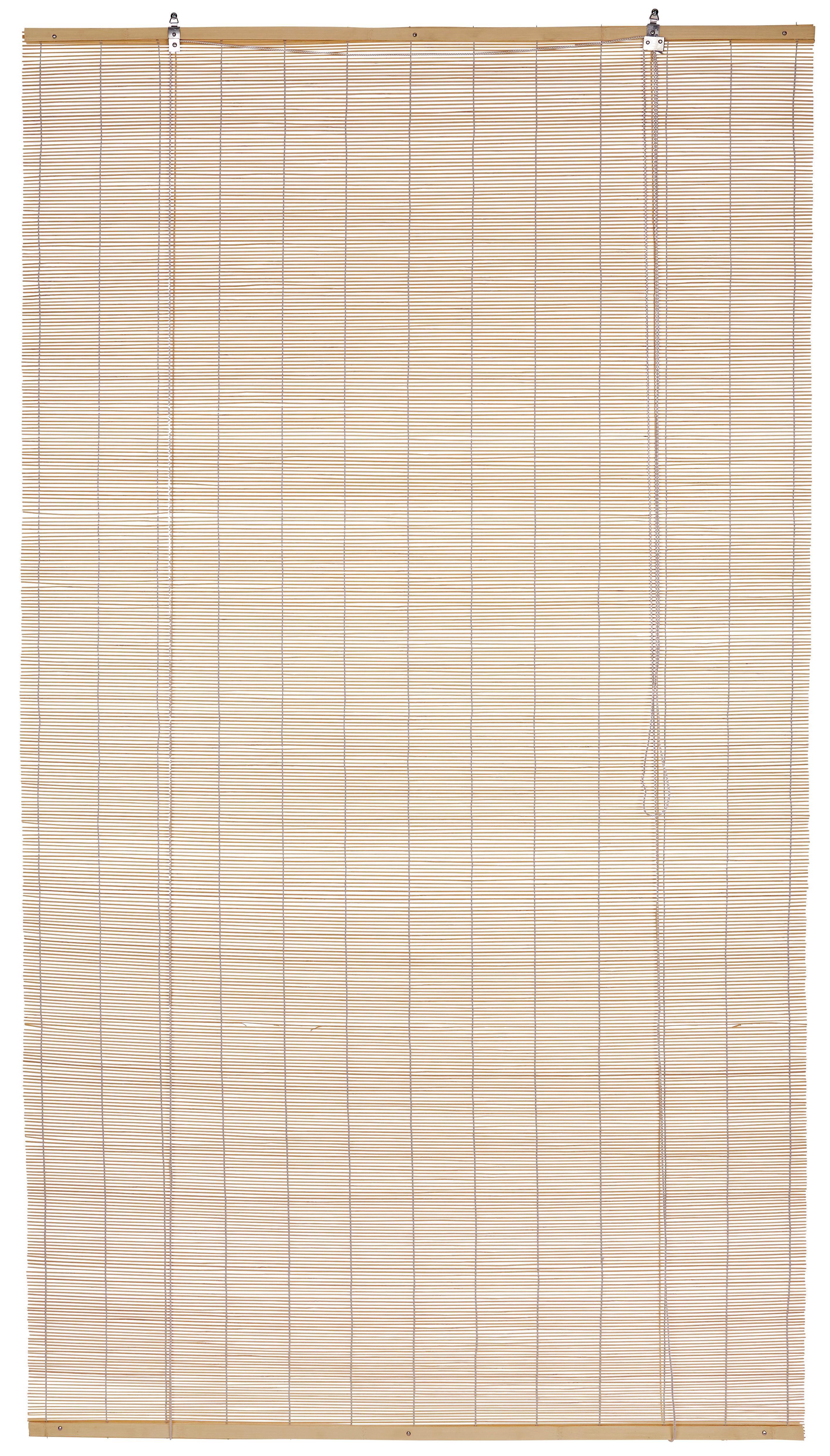 Bambuszroló Willi - natúr színek, konvencionális, fa (100/180cm) - OMBRA