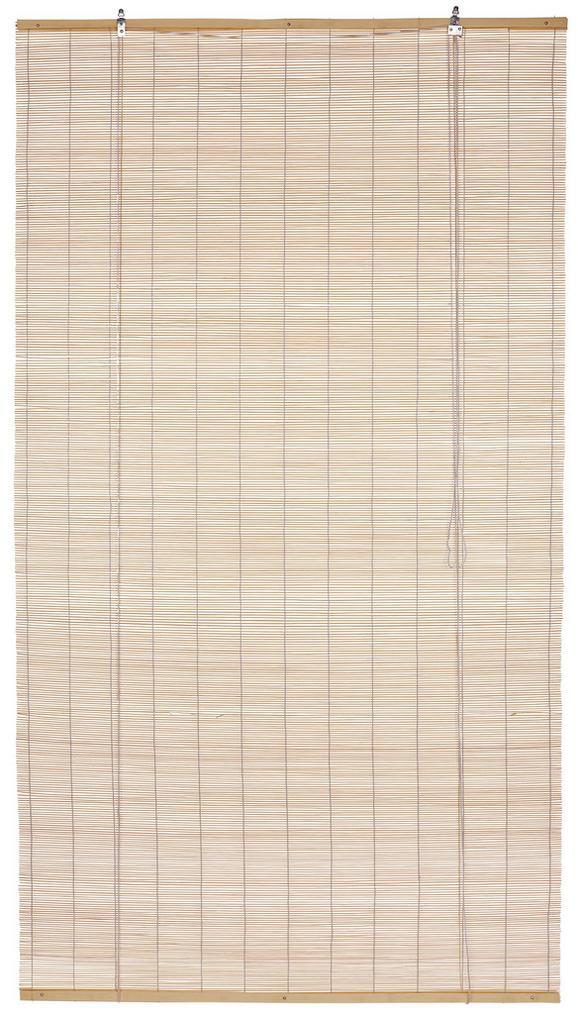 Bambuszroló Willi - natúr színek, konvencionális, fa (80/180cm) - OMBRA