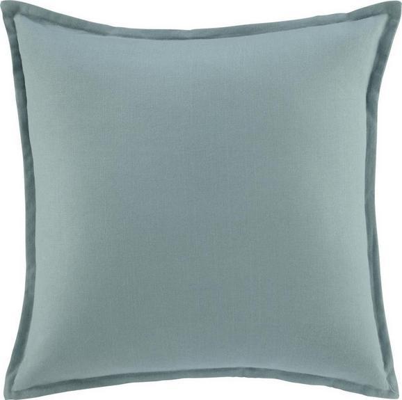 Zierkissen Sonja in Grün, ca. 45x45cm - Blau, Textil (45/45cm) - MÖMAX modern living