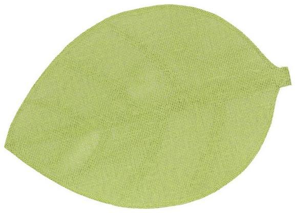 Tischset Leaf in verschiedenen Farben - Weiß/Grau, Weitere Naturmaterialien (33/50cm)