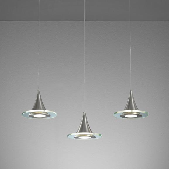 LED-Hängeleuchte Ranarp - Klar, MODERN, Glas/Kunststoff (50/15/150cm) - MÖMAX modern living
