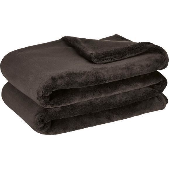 Mehka Odeja Michael Xxl - črna, tekstil (220/240cm)