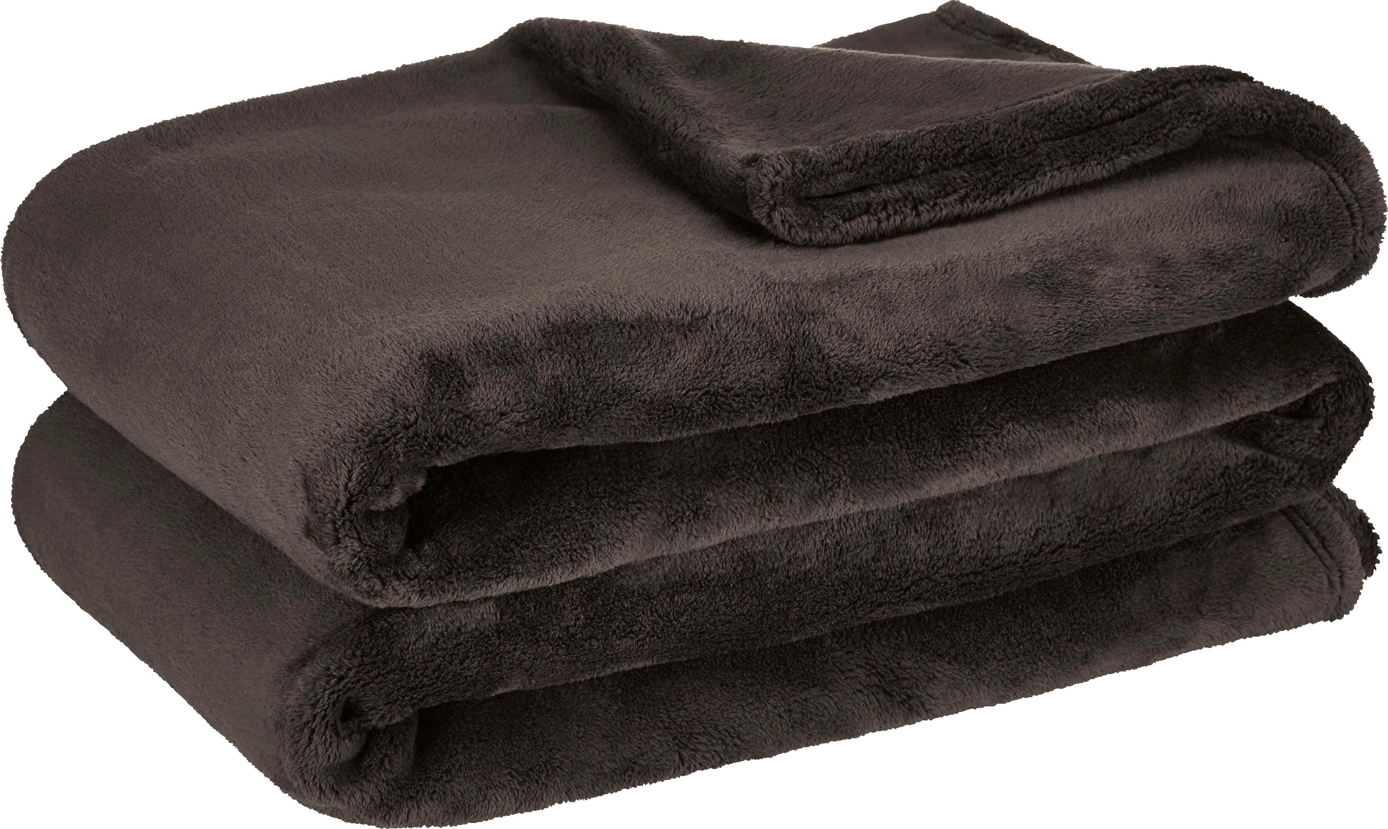 Puha Takaró Michael Xxl - fekete, textil (220/240cm)