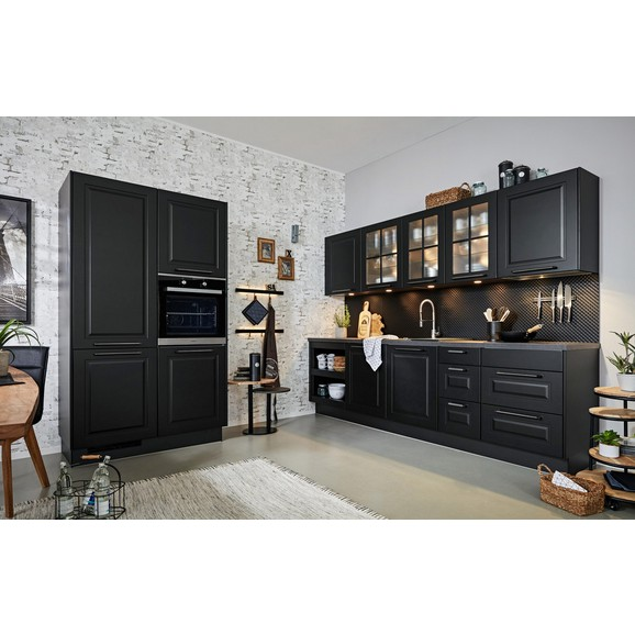 einbauk che sylt schwarz online kaufen m max. Black Bedroom Furniture Sets. Home Design Ideas