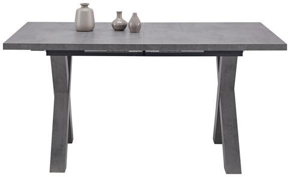 Esstisch Grau - Grau, MODERN, Holzwerkstoff (160/210/74/90cm) - Mömax modern living
