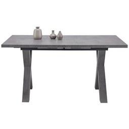 Jedilna Miza Mister X Ca. 160-210x90 Cm - siva, Moderno, leseni material (160/210/74/90cm) - Mömax modern living