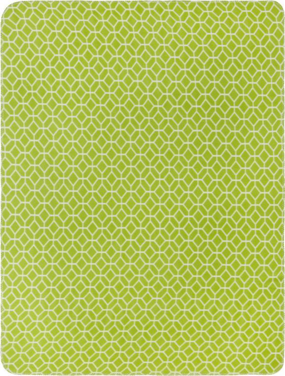 Polár Pléd Sahara - Zöld, Lifestyle, Textil (130/170cm) - Mömax modern living